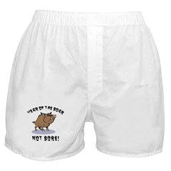 Year of The Boar Boxer Shorts