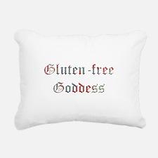 Gluten free Goddess Rectangular Canvas Pillow