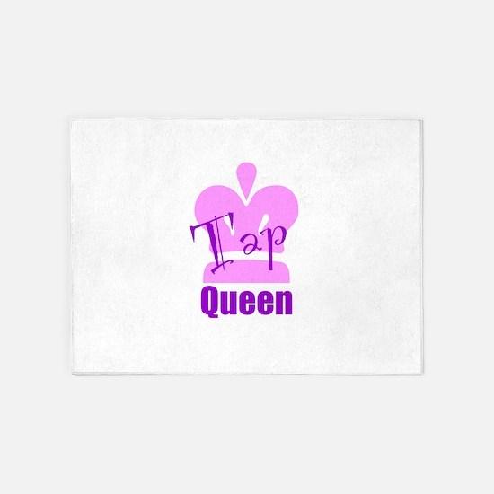 Tap Queen 5'x7'Area Rug