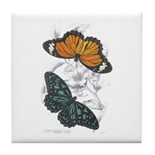 Butterfly Insects Tile Coaster