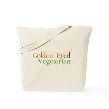 Golden Eye Vegetarian Tote Bag