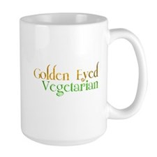 Golden Eye Vegetarian Mug