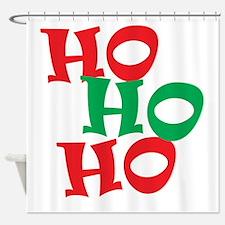 Ho Ho Ho - Santa Laugh - Merry Christmas Shower Cu