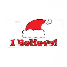 I Believe - Santa Hat - Merry Christmas - I believ