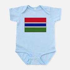 Gambia - National Flag - Current Infant Bodysuit