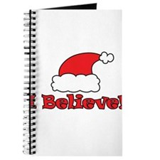 I Believe - Santa Hat - Merry Christmas - I believ