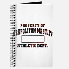 Property of Neapolitan Mastiff Journal