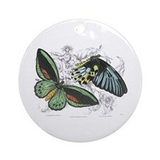 Butterfly Insects Ornament (Round)