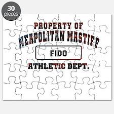 Personalized Neapolitan Mastiff Puzzle