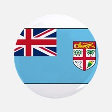 """Fiji - National Flag - Current 3.5"""" Button (100 pa"""