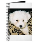 ADORABLE PUPPY FACE JOURNAL