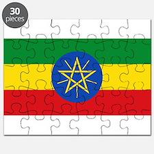 Ethiopia - National Flag - Current Puzzle