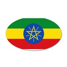 Ethiopia - National Flag - Current Wall Decal
