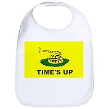 """Time's Up"" flag Bib"