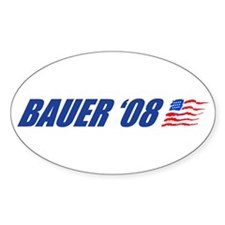 Bauer '08 Oval Decal
