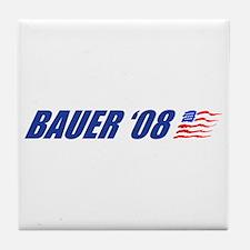 Bauer '08 Tile Coaster