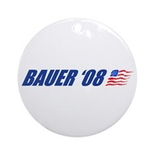 Bauer '08 Ornament (Round)