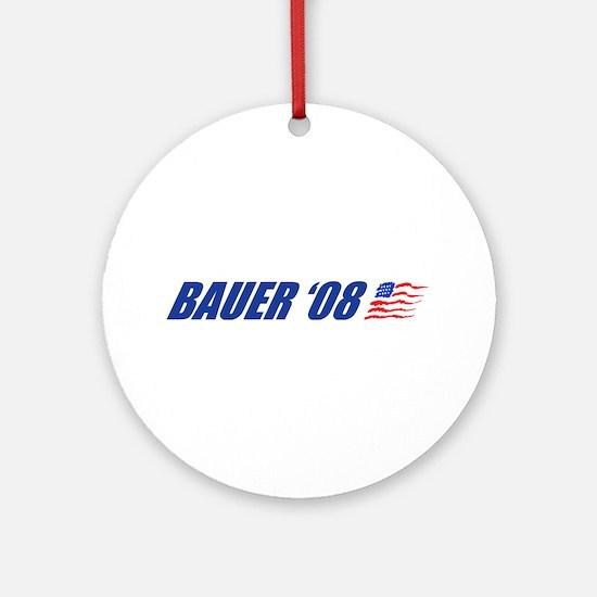 Bauer '08 Ornament (Round)