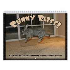 Bunny Bliss Wall Calendar