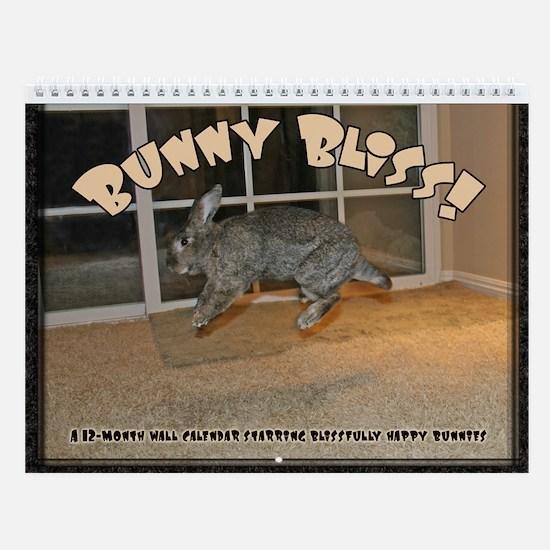 Bunny Bliss Wall Calendar