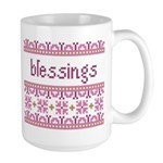 Blessings 4 Large Mug