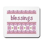 Blessings 4 Mousepad