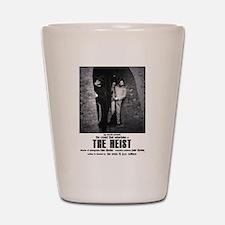 The Heist Black and White Shot Glass