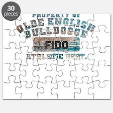 Personalized Olde English Bulldogge Puzzle