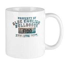 Personalized Olde English Bulldogge Small Mug