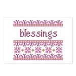 Blessings 4 Postcards (Package of 8)