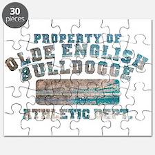 Property of Olde English Bulldogge Puzzle