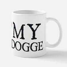 I Heart My Bulldogge Mug