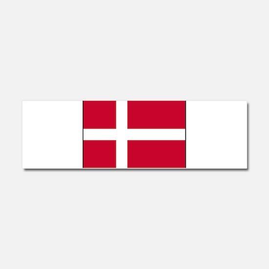 Denmark - National Flag - Current Car Magnet 10 x