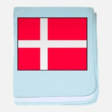 Denmark - National Flag - Current baby blanket