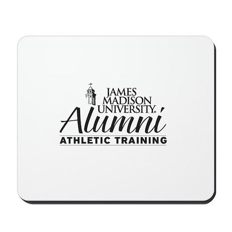 JMU Athletic Training Alumi (Black/White) Mousepad