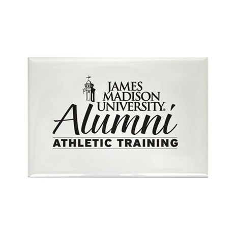 JMU Athletic Training Alumi (Black/White) Rectangl