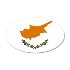 Cyprus - National Flag - Current Wall Decal