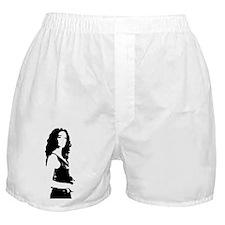 woman sil Boxer Shorts