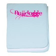 Bulldogge baby blanket