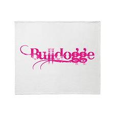 Bulldogge Throw Blanket