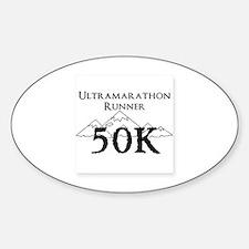 50k design Sticker (Oval)