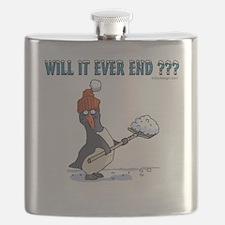 Snowbound Penguin Flask