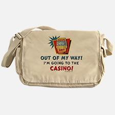 Casino Humor Messenger Bag