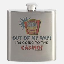Casino Humor Flask