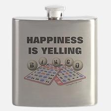 Happiness is Yellling Bingo! Flask
