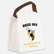 BUZZ OFF Canvas Lunch Bag