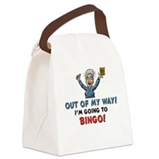 BINGO!! Canvas Lunch Bag
