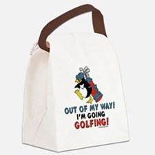 Golf Lovers Canvas Lunch Bag