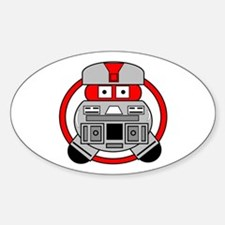 VINCENT Oval Decal