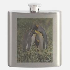 King Penguin Lovers Flask